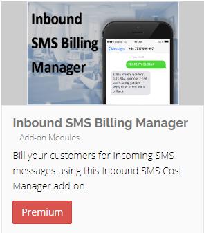 Inbound SMS Billing Add-on image