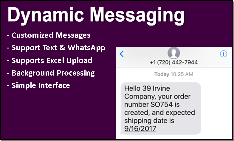 Advanced Dynamic Messaging